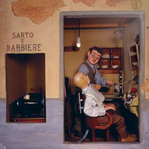 The tailor and barber shop