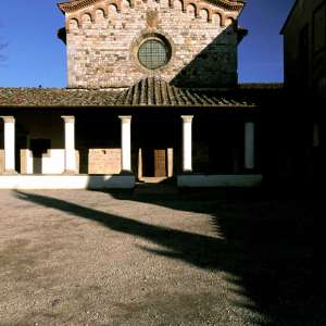 The façade of Bosco ai Frati Convent